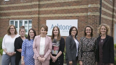 Ashtons Legal, new associates Pictured are (l-r) Hannah Lindsey Smith, Siobhan McWhinney, Faye St