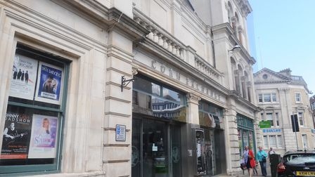 The Corn Exchange, where the concert will be held. Picture: LUCY TAYLOR