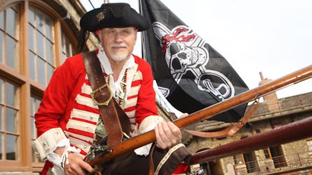 Pirate Day at Landguard Fort on Saturday morning. Reenactments and displays 17/9/2016