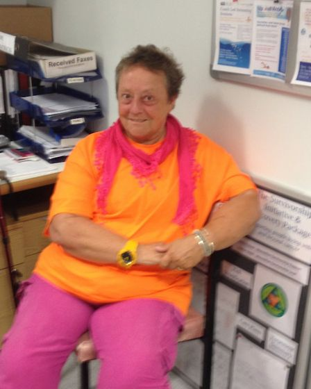 Cancer patient Shasha Toptani at the Woolverstone Macmillan Centre