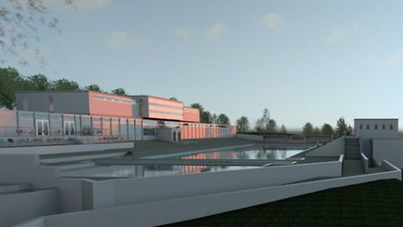 Indicative designs for the Broomhill Lido restoration. Image copyright KLH Architects