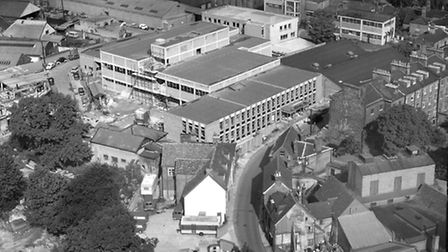 September 1965 and the offices and printing works in Lower Brook Street were nearing completion. Sta