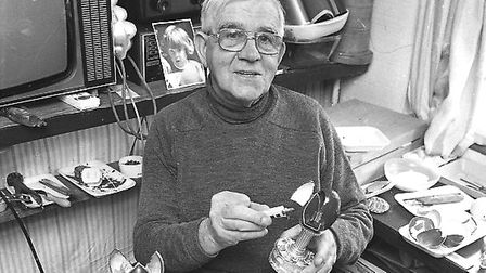 Do you know who this talented egg decorator was?