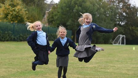 Pupils at The Willows Primary School in Ipswich have been getting active by walking or running one