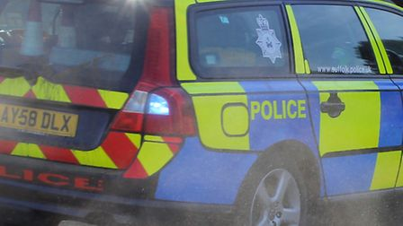 Police were called to the former A12 at Copdock.