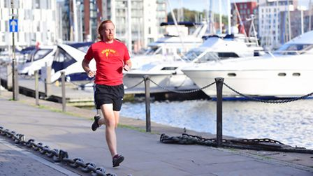 Now fitted with a pacemaker, Jonathan has set himself a goal of running 1,000 miles this year