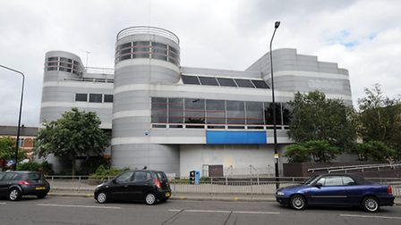 The former Odeon building in Ipswich