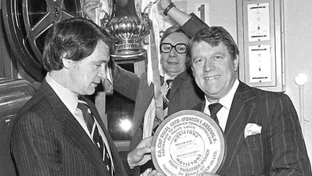 Presentation for Bobby Robson at the Odeon Cinema in May 1978