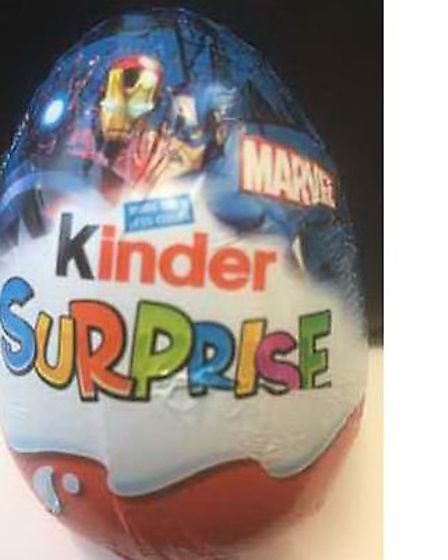 A Kinder egg with cannabis in lands man in jail