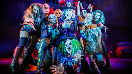 The Circus of Horrors, coming to Felixstowe's Spa Pavilion October 25. Photo: Chris Schmidt