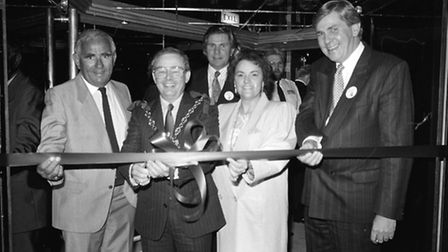 In 1988 Hollywood nightclub officially opened for business