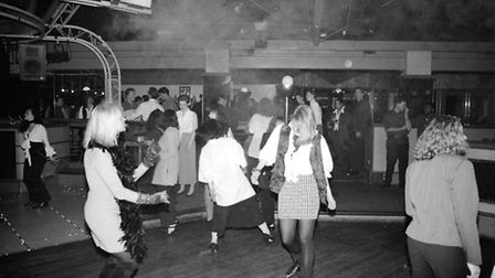 A typical night in Hollywoods in 1993 as people gradually made their way to the dancefloor