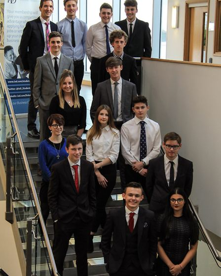This latest group of 14 students at One are becoming members of the IoD, in a unique partnership bet