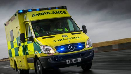 The East of England Ambulance Service responded to the crash. Stock image
