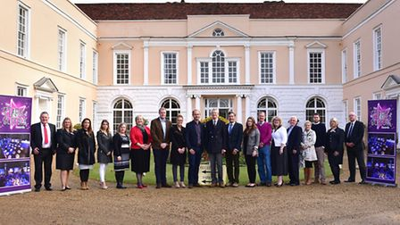 Judges gathered at Hintlesham Hall to begin the selection process for the Stars of Suffolk Awards 2