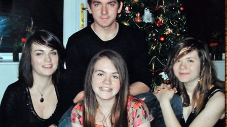 Lizzie Ford's family are shortlisted for the Unsung Hero award at the Stars of Suffolk