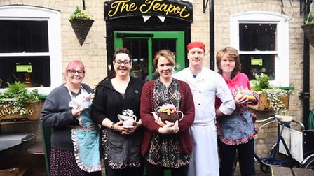The Teapotters are shortlisted for the Team of the Year award at the Stars of Suffolk