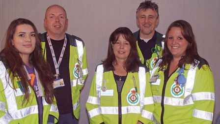 The Leiston First Responders have been shortlisted at the Stars of Suffolk awards.