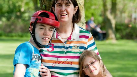 Paula Davis is shortlisted for the Carer of the Year award at the Stars of Suffolk