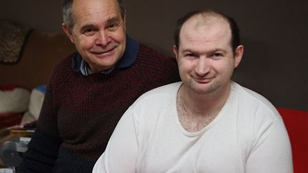 Lenny Southgate is shortlisted for the Carer of the Year award at the Stars of Suffolk
