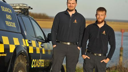 Phillip Pearce and Alasdair Nicol are shortlisted for the Search and Rescue award at the Stars of Su