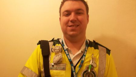 Chris Matthews is shortlisted for the Search and Rescue award at the Stars of Suffolk