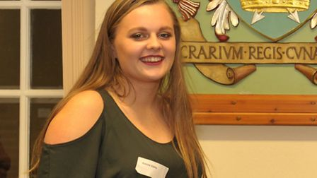 Connie Gibbs is shortlisted for the Young Person award at the Stars of Suffolk