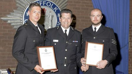 Ali Maidment and Ali Livingstone are shortlisted for the Police Hero award at the Stars of Suffolk