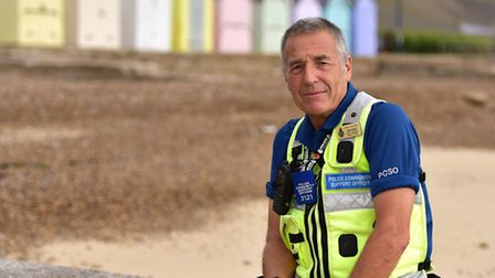 John Hood is shortlisted for the Police Hero award at the Stars of Suffolk