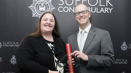 Maureen Allen is shortlisted for the Police Hero award at the Stars of Suffolk