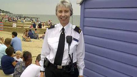 Carol Lukins is shortlisted for the Volunteering award at the Stars of Suffolk