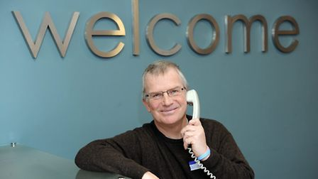 Paul Seymour is shortlisted for the Volunteering award at the Stars of Suffolk