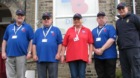 The Royal British Legion drop in centre are nominated for the Armed Services award at the Stars of S