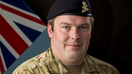 Kevin Knight has been shortlisted for the Armed Services award at the Stars of Suffolk