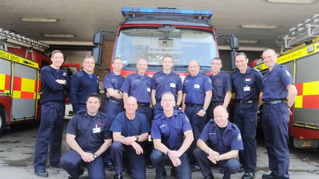 Ipswich Green Watch have been shortlisted for the Fire Service award at the Stars of Suffolk awards.