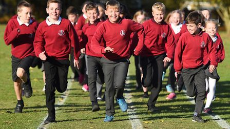 Heath Primary School in Kesgrave has signed up to the Ipswich Star Daily Mile campaign.