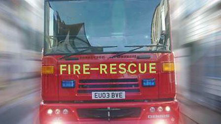 Fire crews were called to a false alarm in Ipswich.