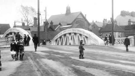 When Stoke Bridge, Ipswich, opened in April 1925, there was very little traffic