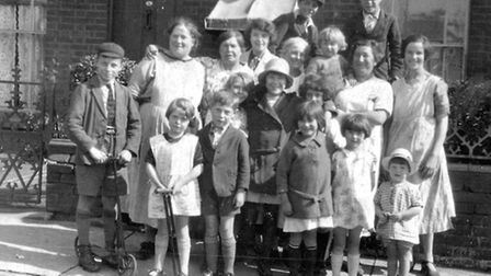 Life 'over Stoke', when George Brunning was a boy, is captured in this photograph taken in Croft Str