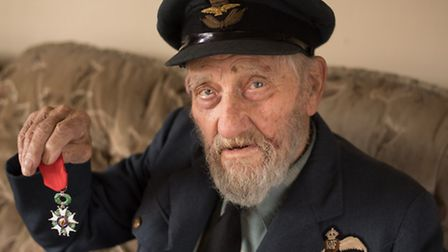 Ipswich war veteran, Stanley Chambers, a spitfire pilot who flew hundreds of missions during the Sec