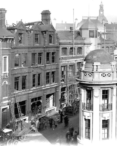 February 1932 saw the offices of Shell Mex and BP gutted by fire