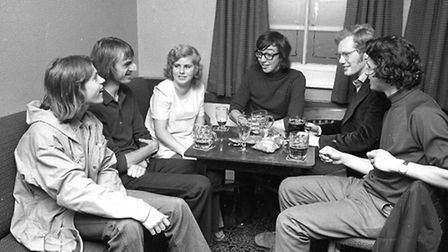 Ed Nichols has named this group at the Garland public house in 1974.