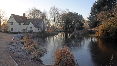 A walk around the National Trust buildings at Flatford in the early morning - by Mick Webb