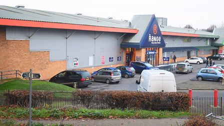 The Range wants to move from the Suffolk retail park to a new site out of town.