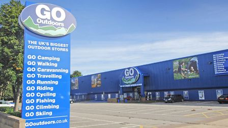Go Outdoors in Norwich - now the store could be opening in Ipswich at the Anglia Retail Park.