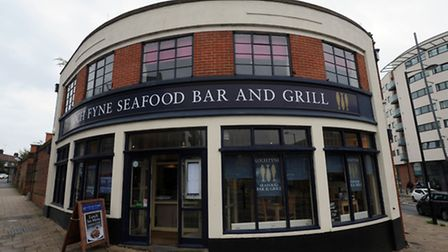 Loch Fyne Seafood Bar and Grill in Ipswich.