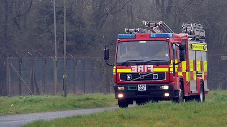 Suffolk Fire and Rescue fire engine. File photo