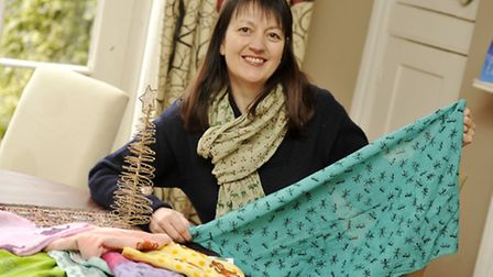 Businesswoman Jo Salter, of Where Does It Come From, has a new collection of animal print Fairtrade