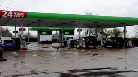 Asda Petrol Station in the Whitehouse area of Ipswich.