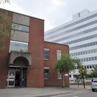 The incident happened nearthe magistrates court